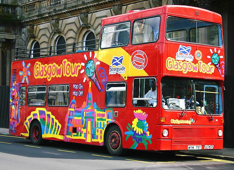 Photograph of Glasgow City Tour bus