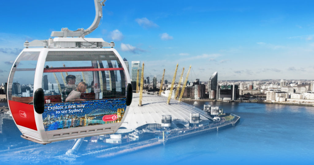 The Emirates Air Line, London