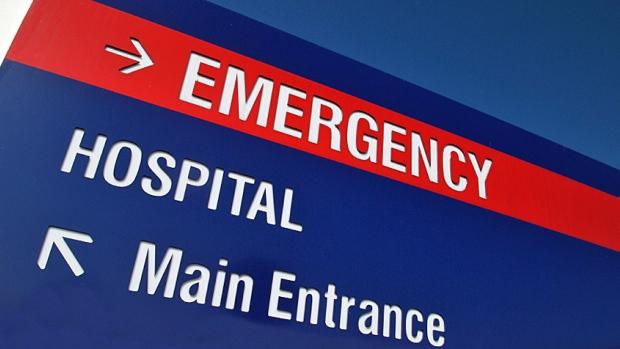 Image of hospital ER sign