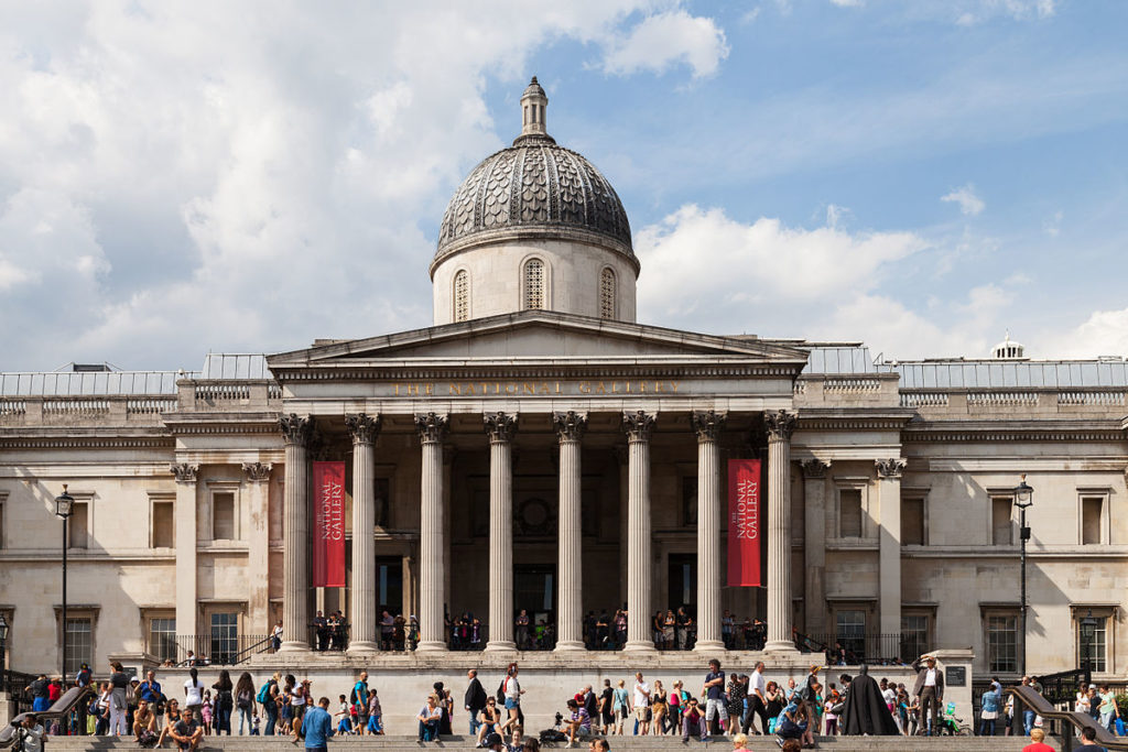 Photograph of the National Gallery in London