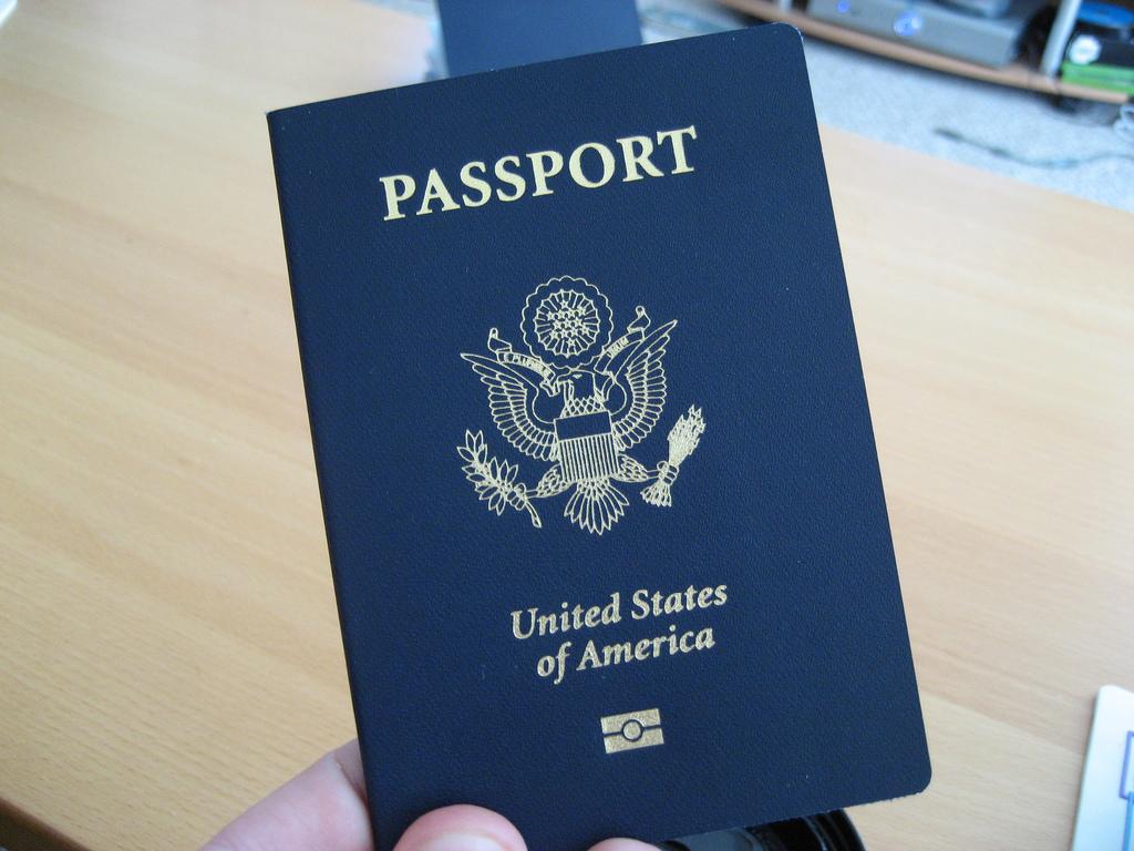 Image of a USA Passport
