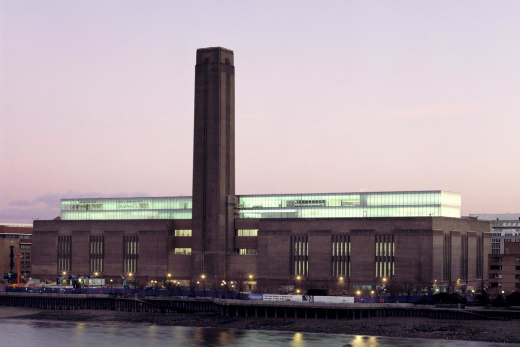 Photograph of the Tate Modern in London