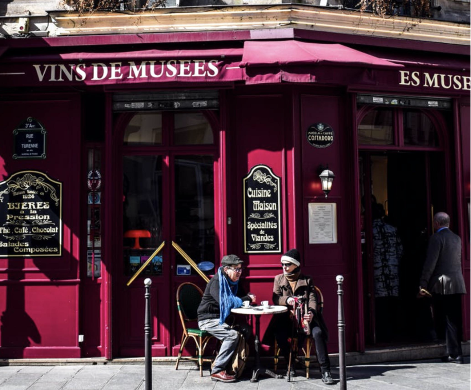 A cafe in Paris